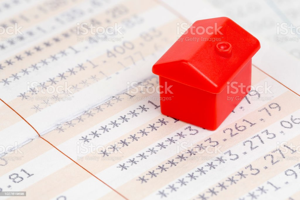 house savings stock photo