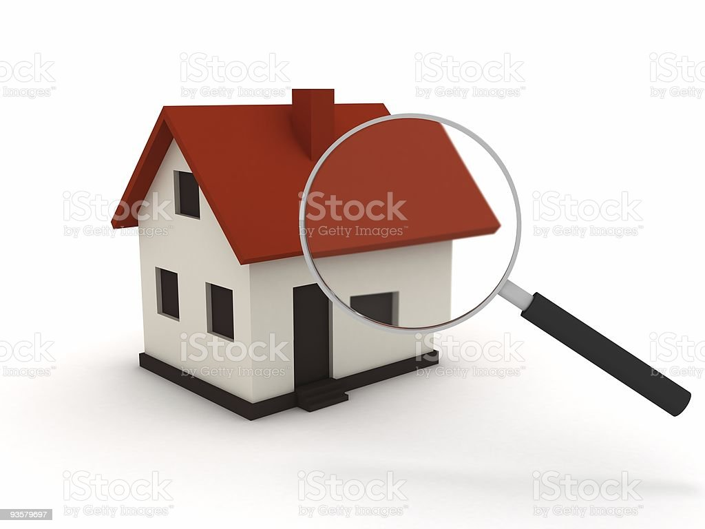 House Search royalty-free stock photo