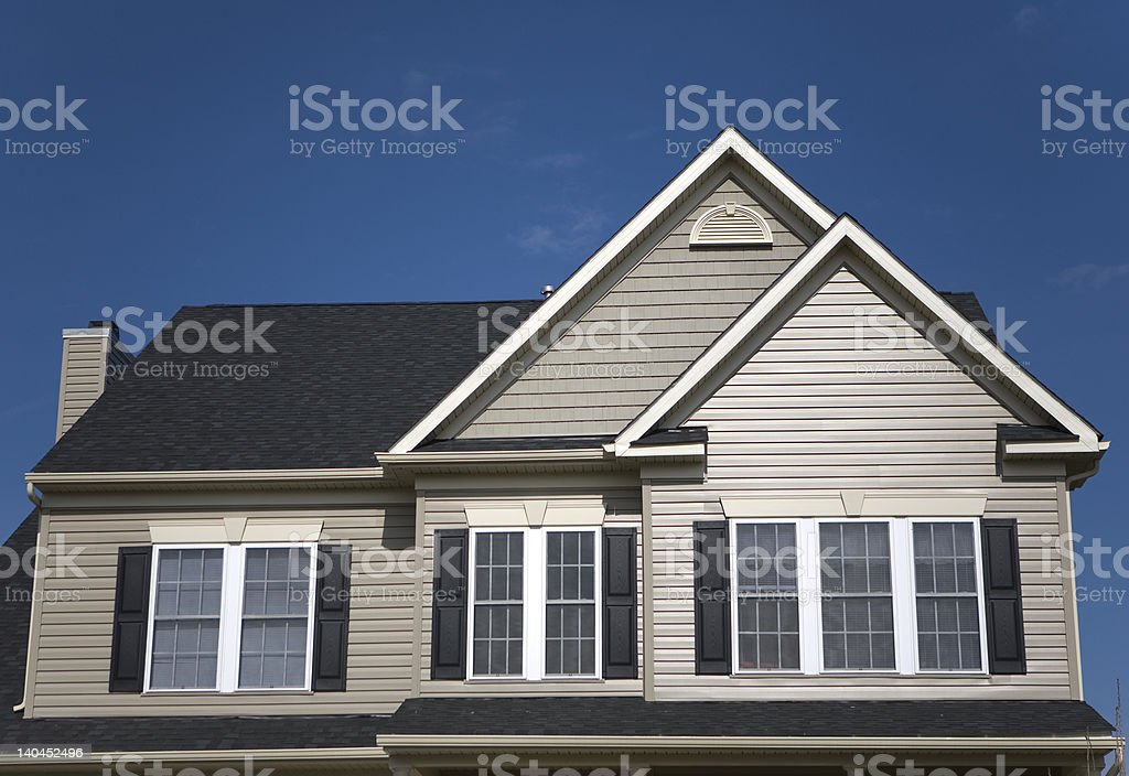 House second floor royalty-free stock photo
