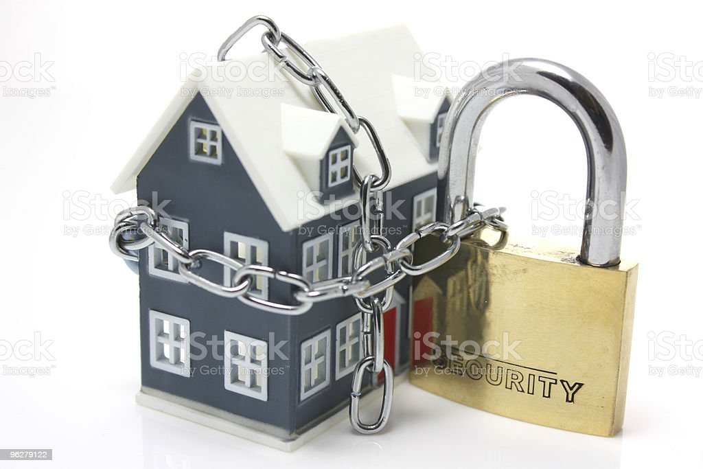 House security concept stock photo
