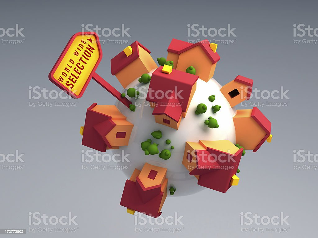 House Selection royalty-free stock photo
