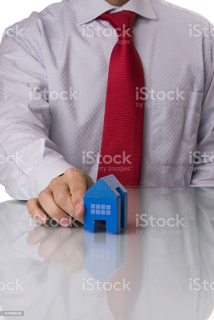 House selling royalty-free stock photo