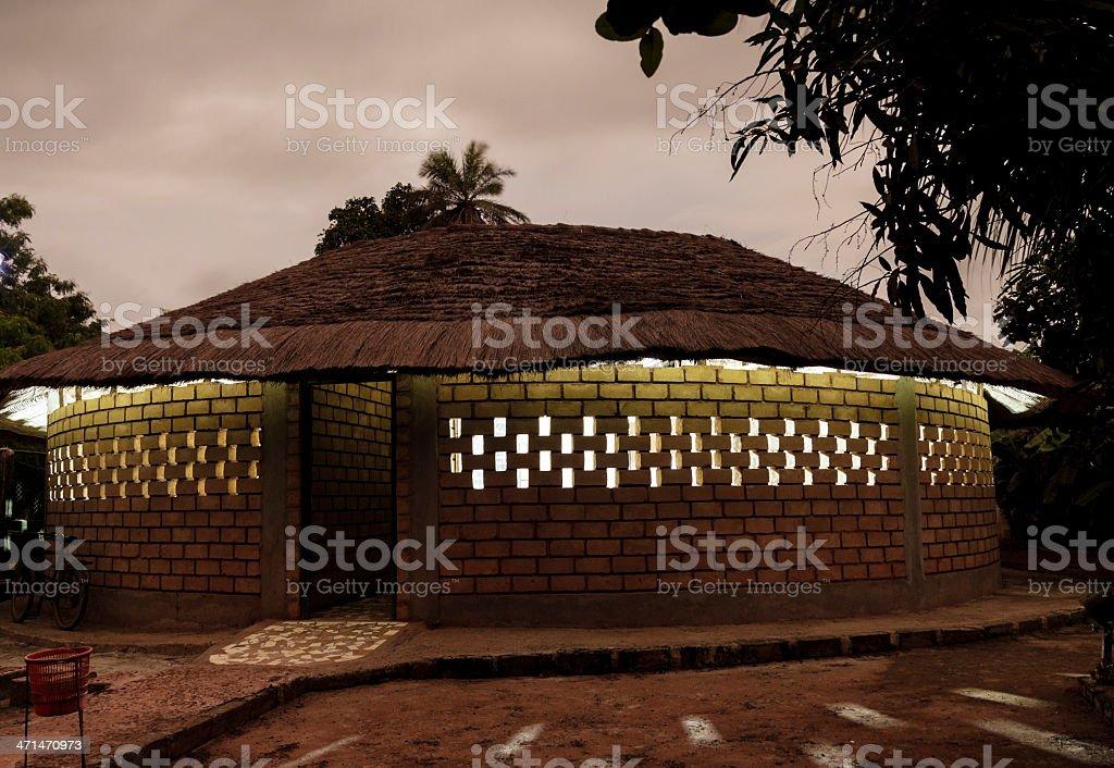 House Senegali stock photo