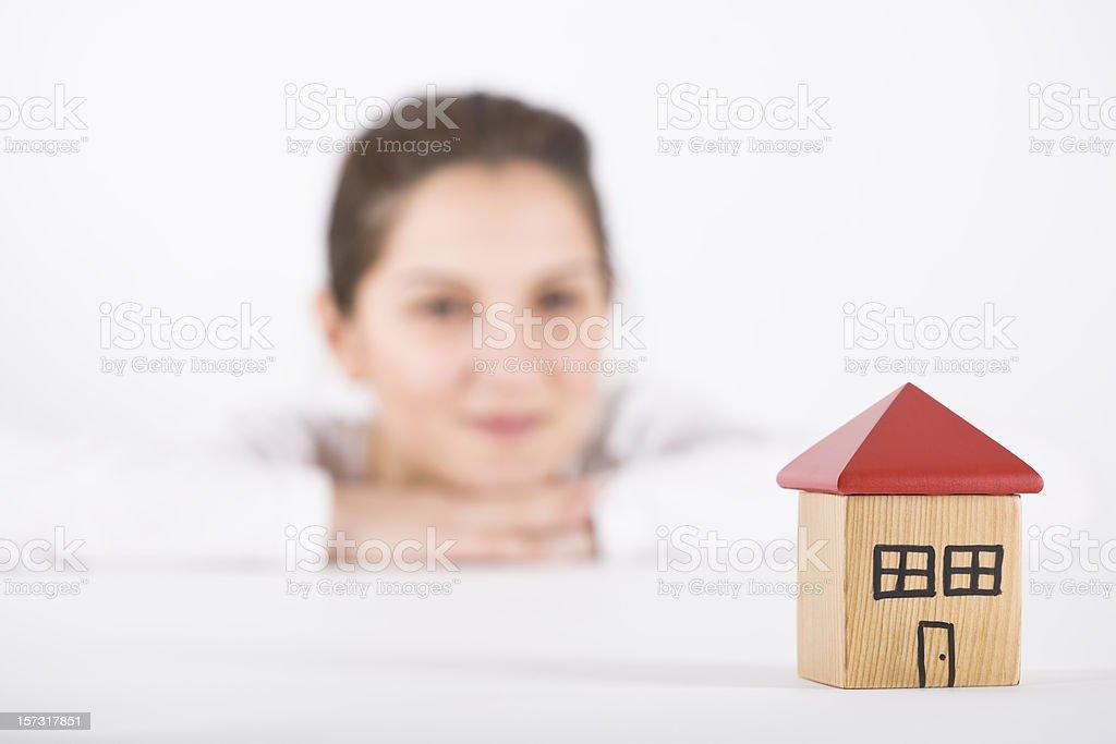House series royalty-free stock photo