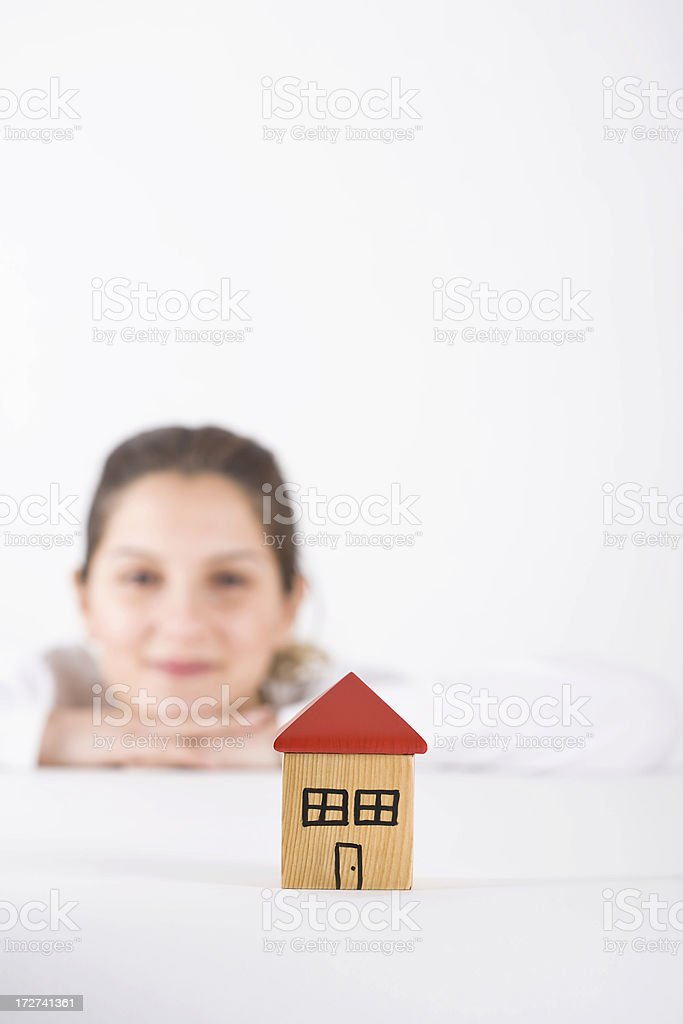 House series royalty-free stock photo