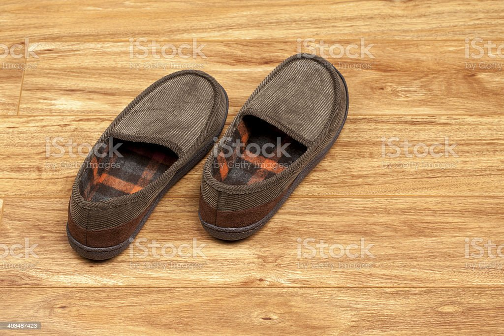 House Slippers royalty-free stock photo