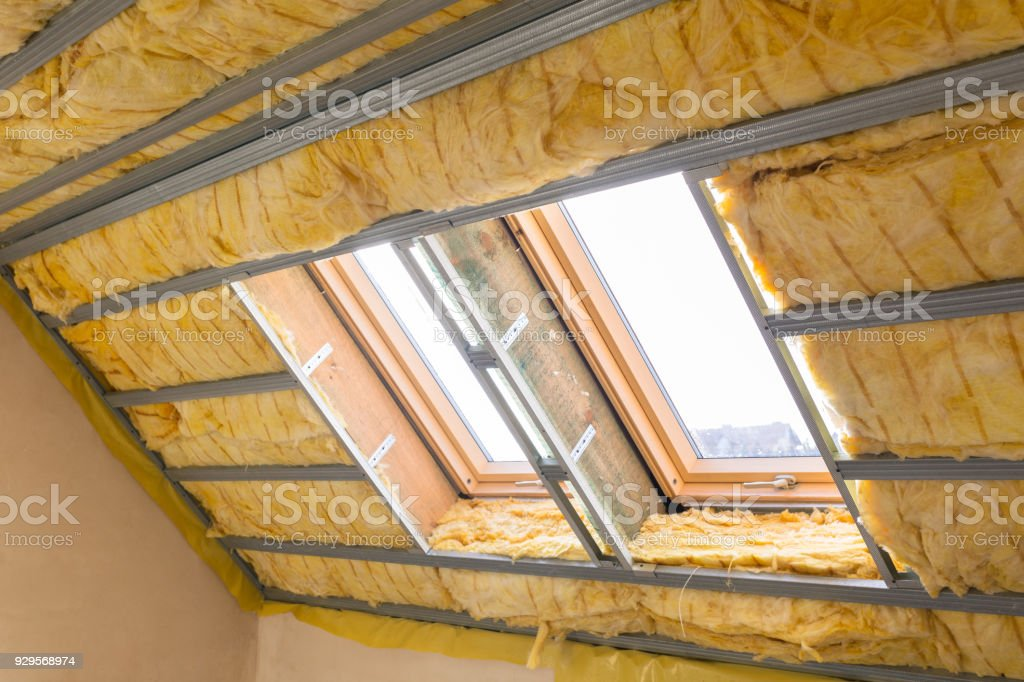 House thermal insulation with mineral wool – zdjęcie