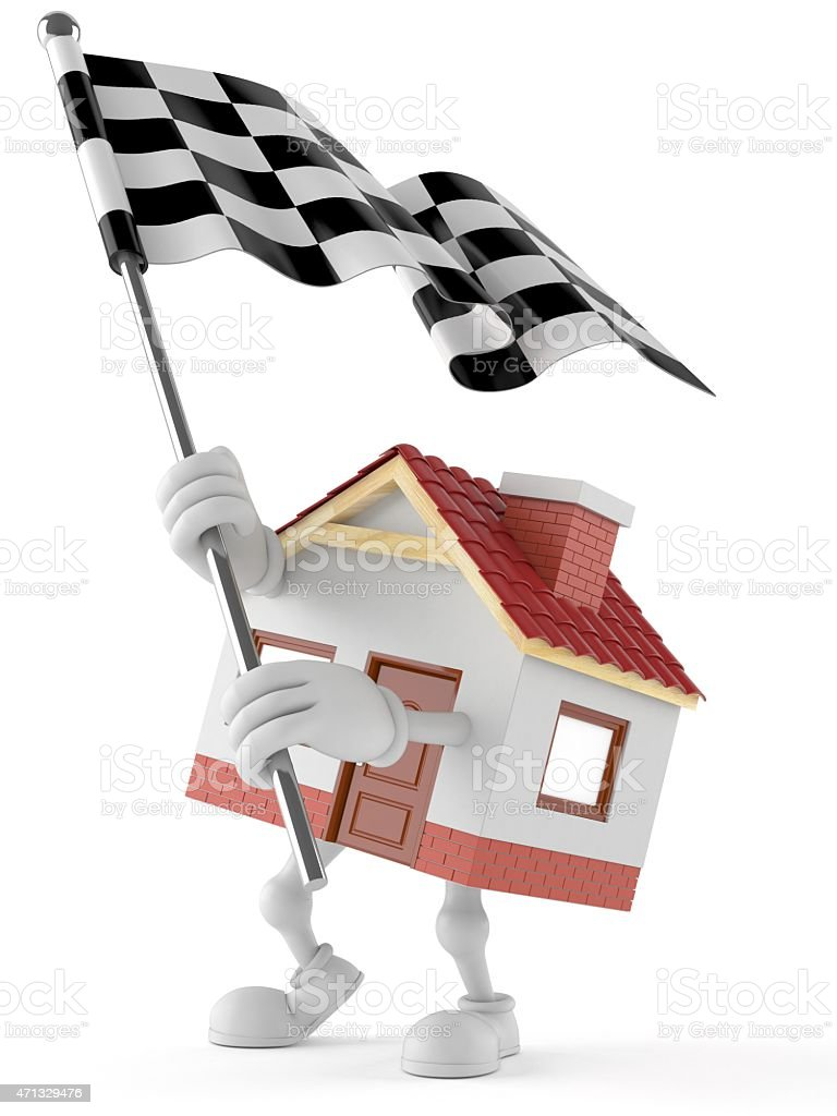 House toon stock photo