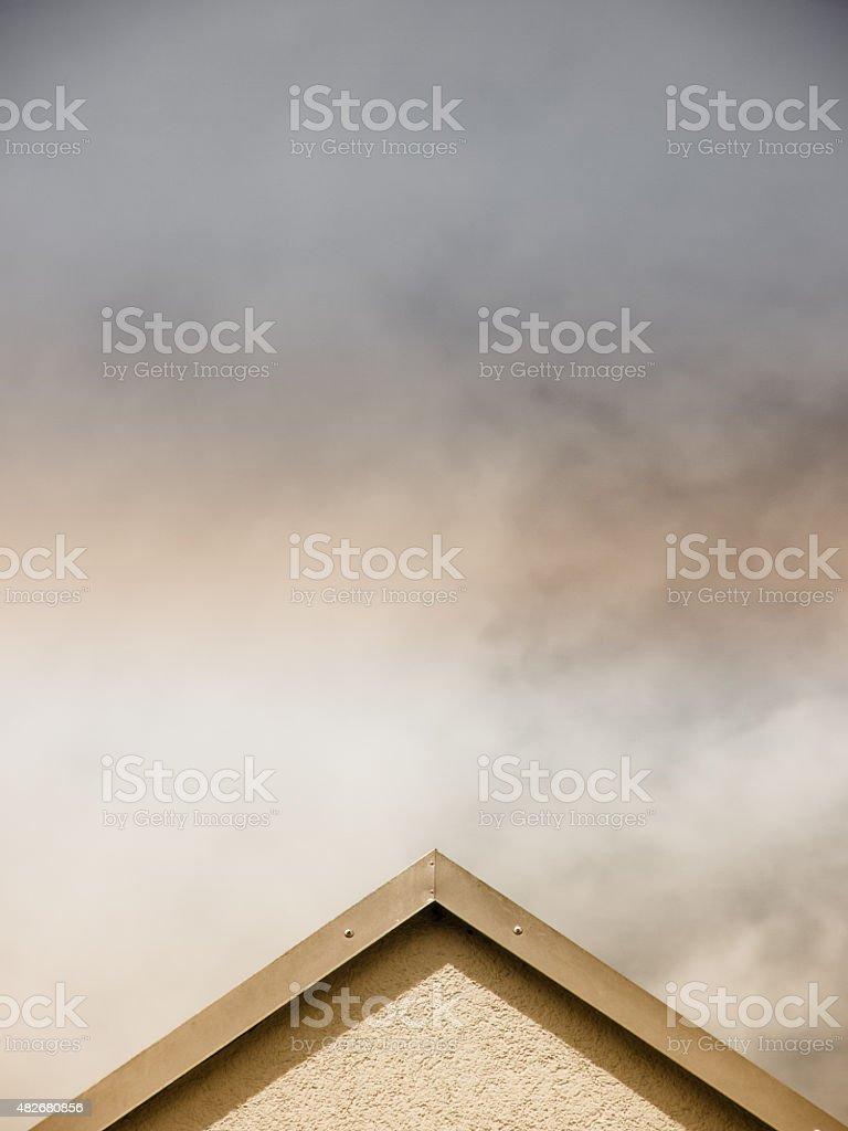 house top stock photo