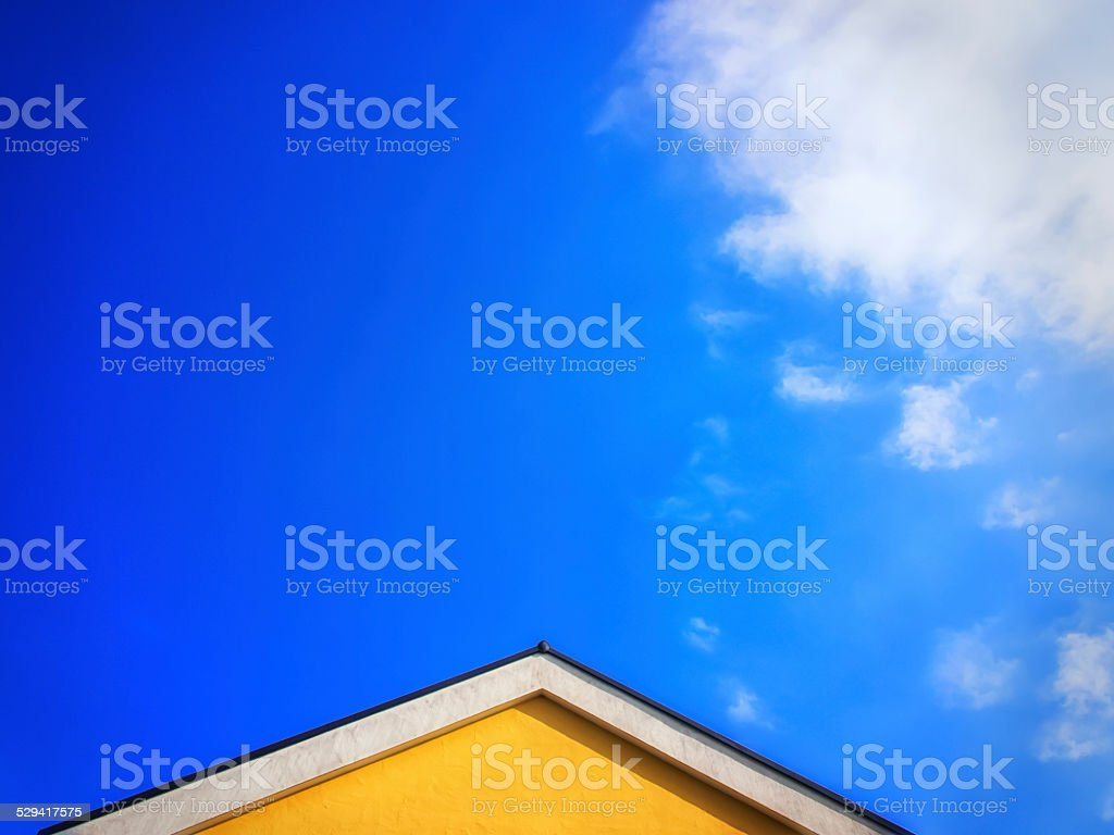 house top stock photo