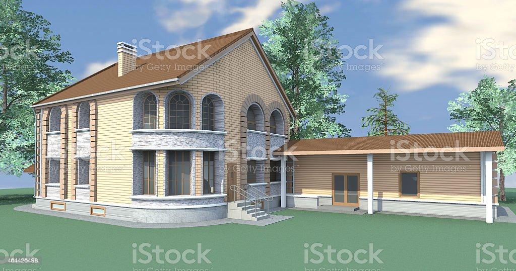 Maison avec annexe - Photo