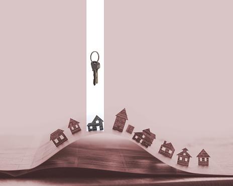 626187670 istock photo House with keys 626185056