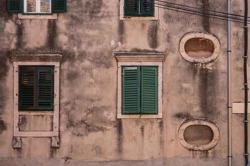 istock House with old facade, Sibenik, Croatia 1170233023