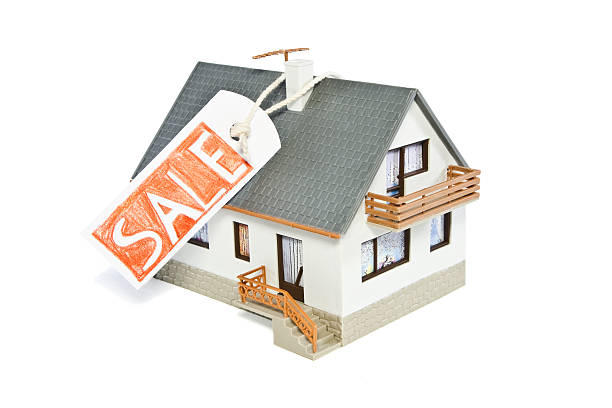 Haus mit Verkauf Tags – Foto