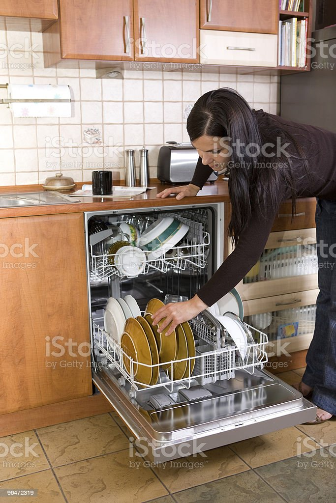 house working royalty-free stock photo