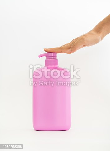 Household chemical bottles.Cleaning product plastic container for house clean