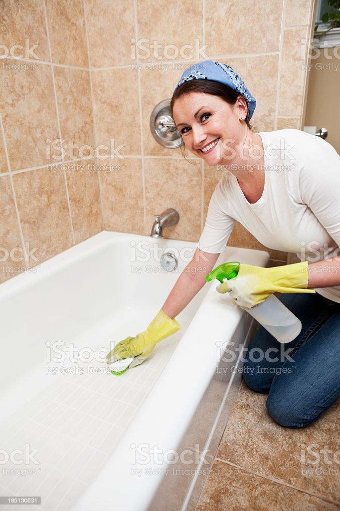 Household chores stock photo