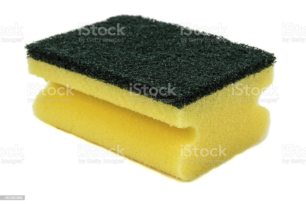 Household cleaning sponge royalty-free stock photo