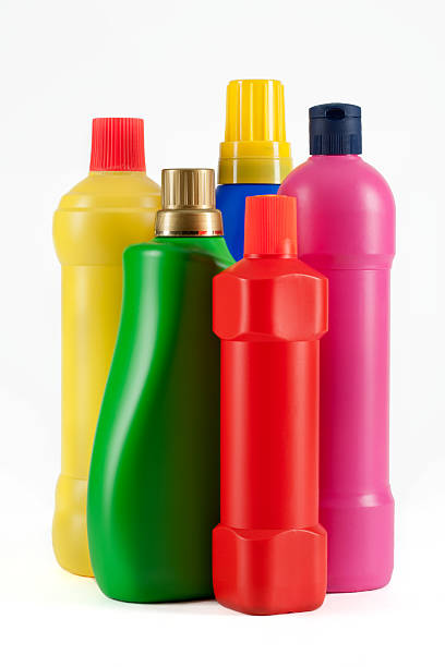 Household Cleaning Supply Bottles