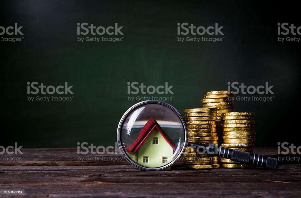 Household finance stock photo