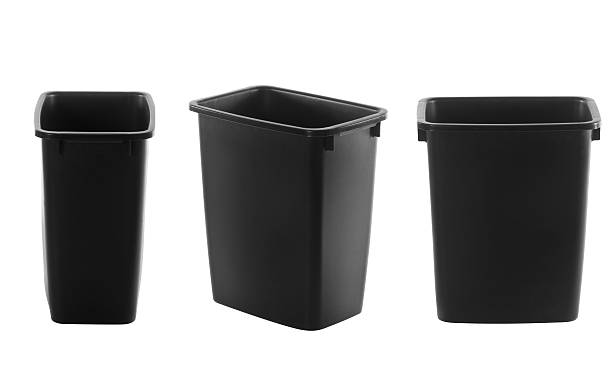 Household Garbage Can stock photo
