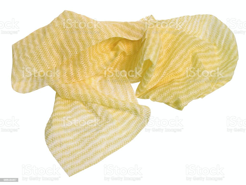 Household: Wet Dish Rag royalty-free stock photo