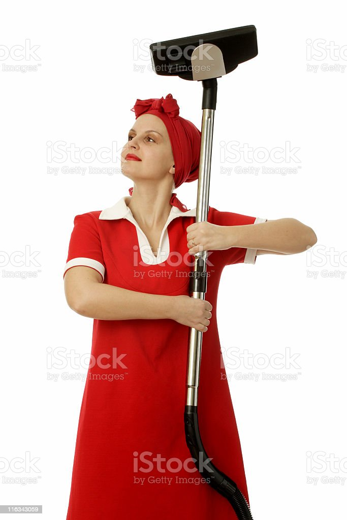 housemaid royalty-free stock photo