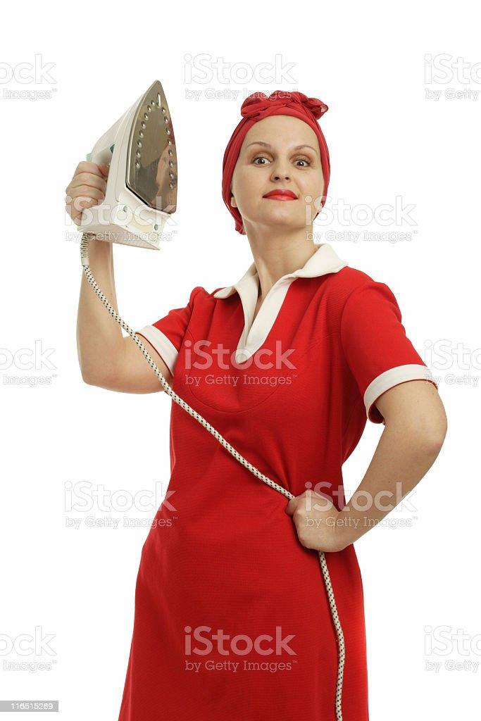 housemaid royalty-free stock photo