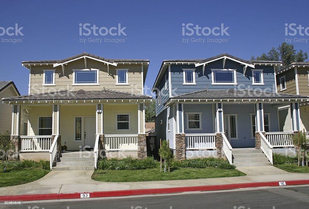 Houses 3 stock photo