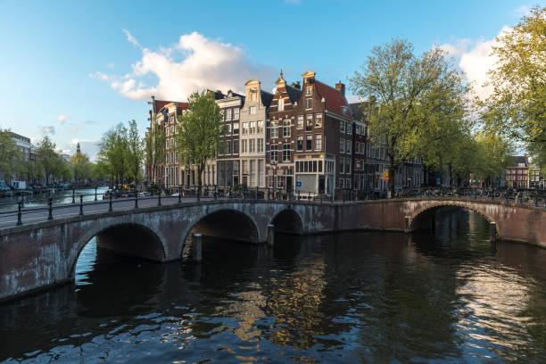 Häuser in Amsterdam – Foto