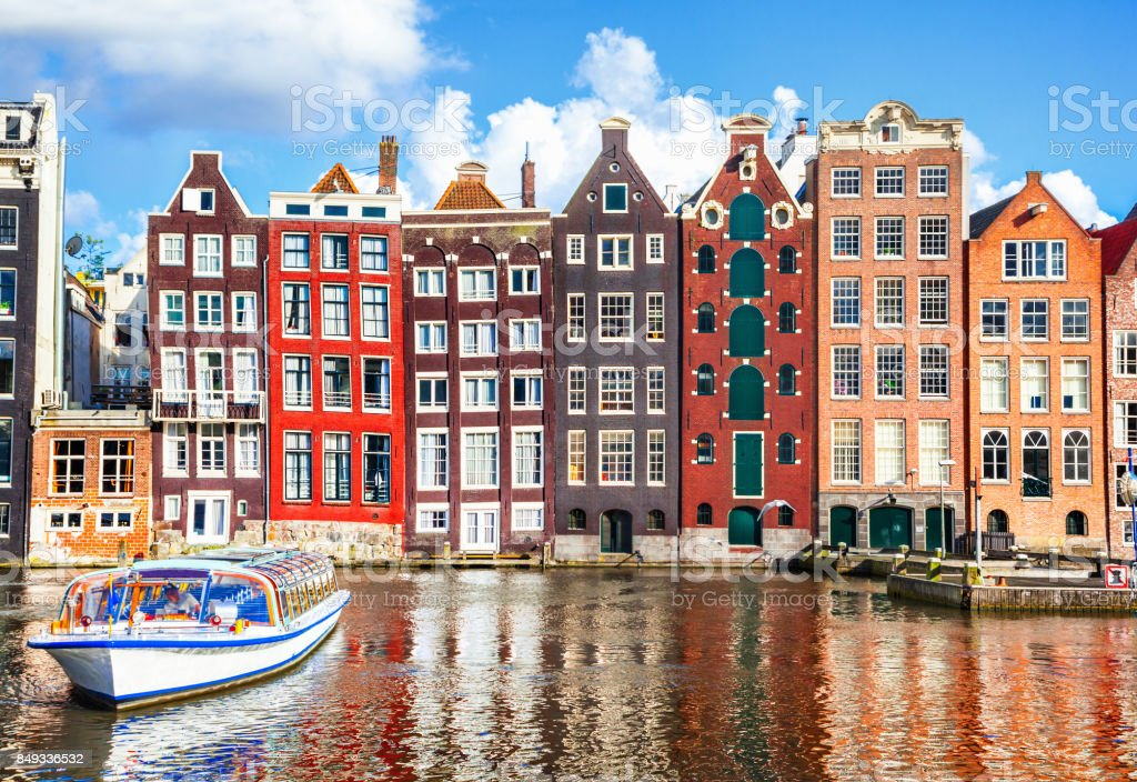 Huizen in Amsterdam foto