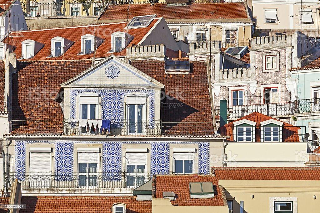 Casas em Lisboa - foto de acervo