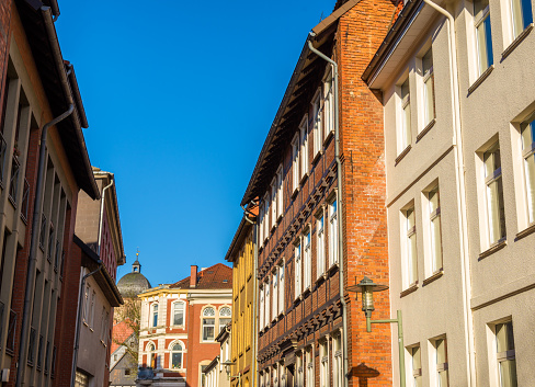 Houses in the Gottingen town center - Germany