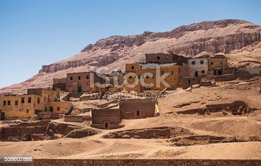 istock houses mountain desert 538602866
