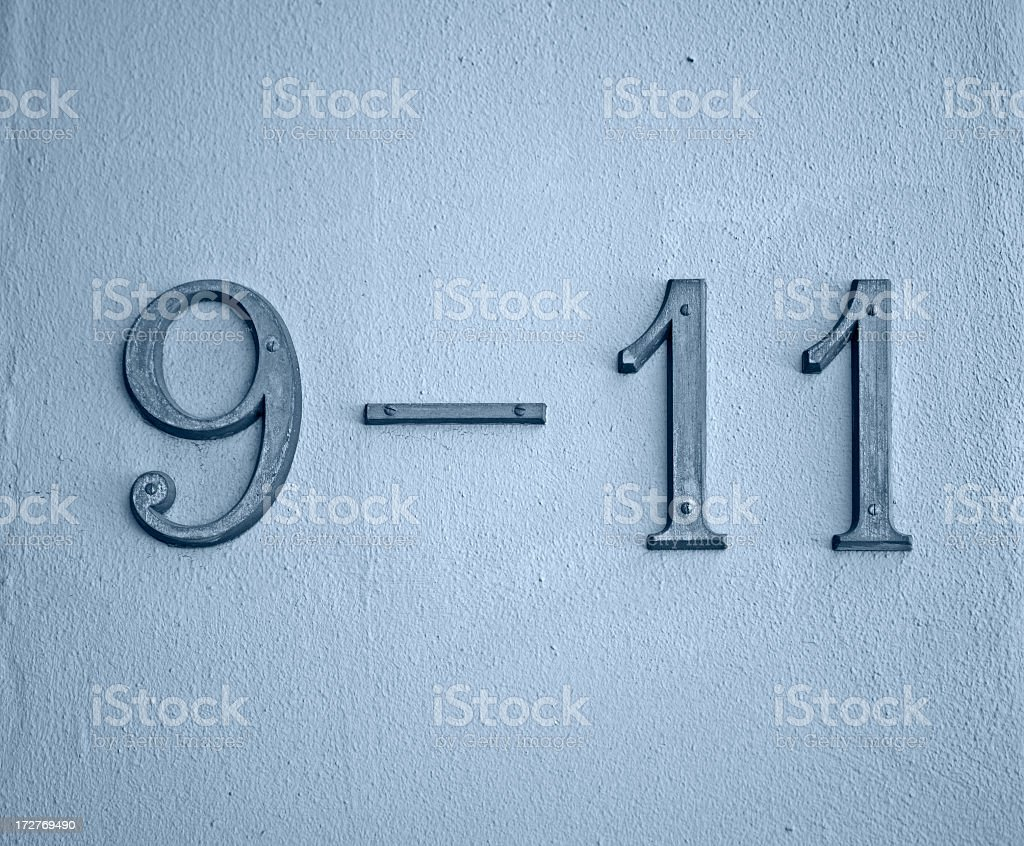 Houses number 9 and 11. royalty-free stock photo
