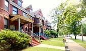 Houses, Oak Park, Chicago.