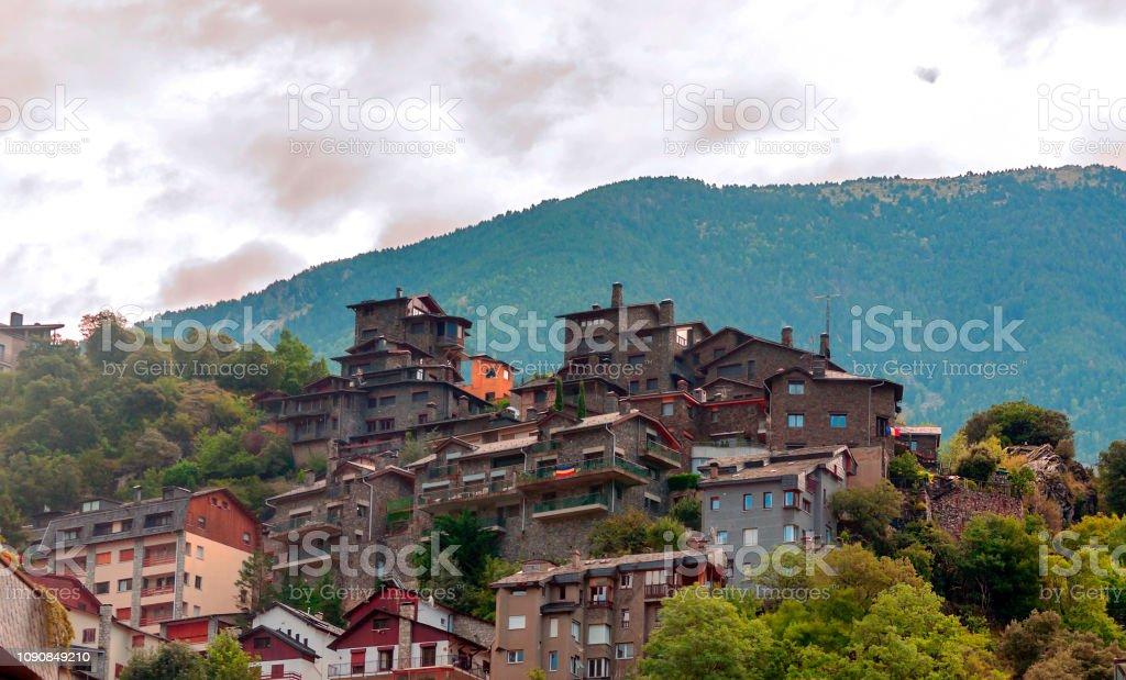 Casas de Andorra - foto de acervo