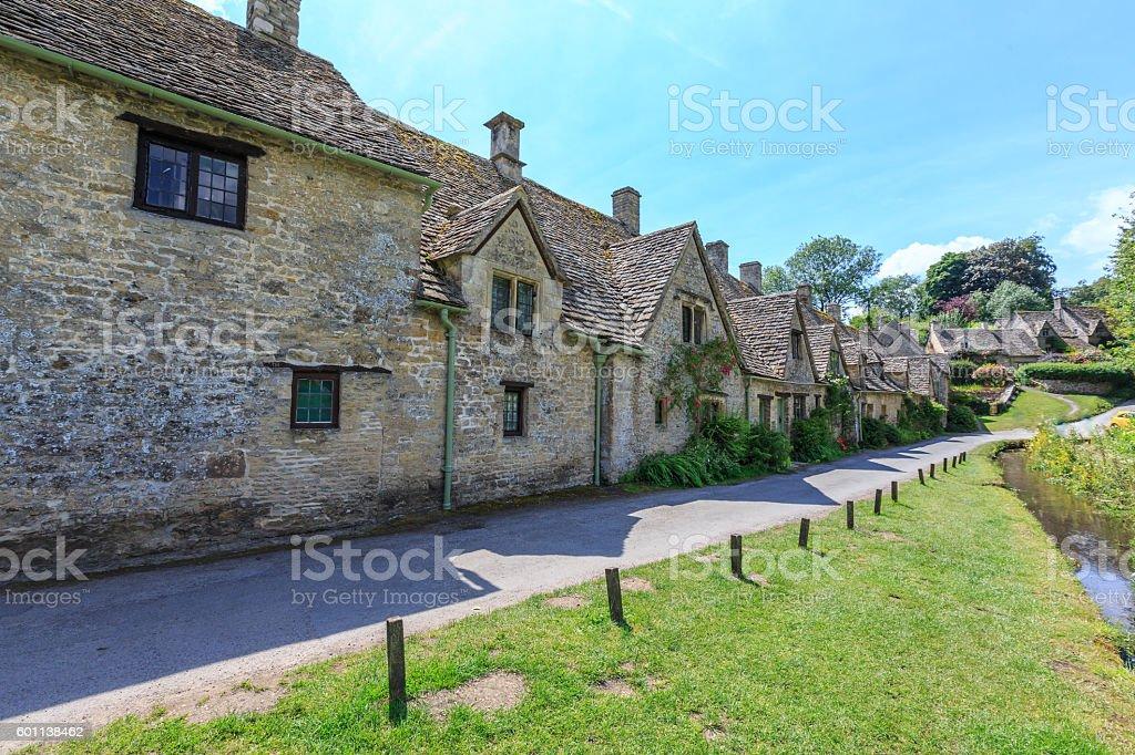 Houses of Arlington Row in Bibury Village, England – Foto
