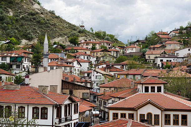 Houses of Beypazarı stock photo
