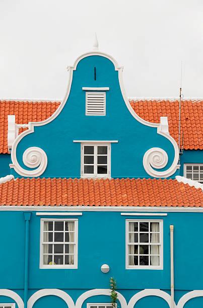 Häuser von Curacao – Foto