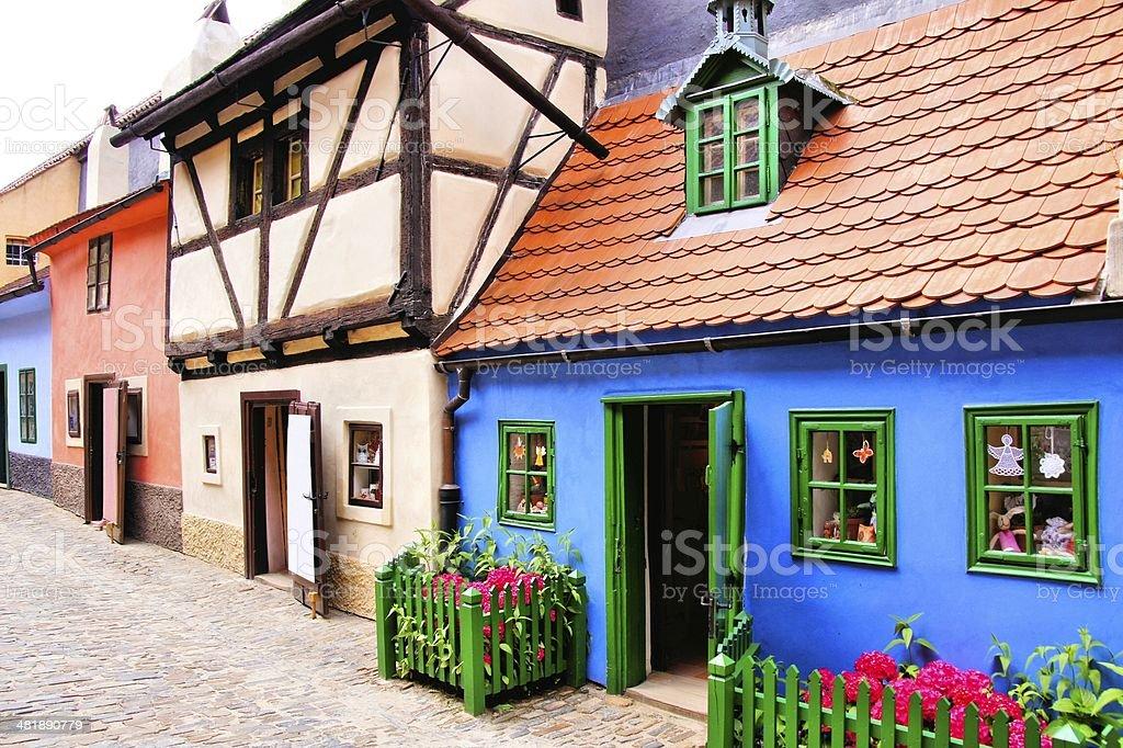 Häuser der Golden Lane, Prag, Tschechische Republik – Foto