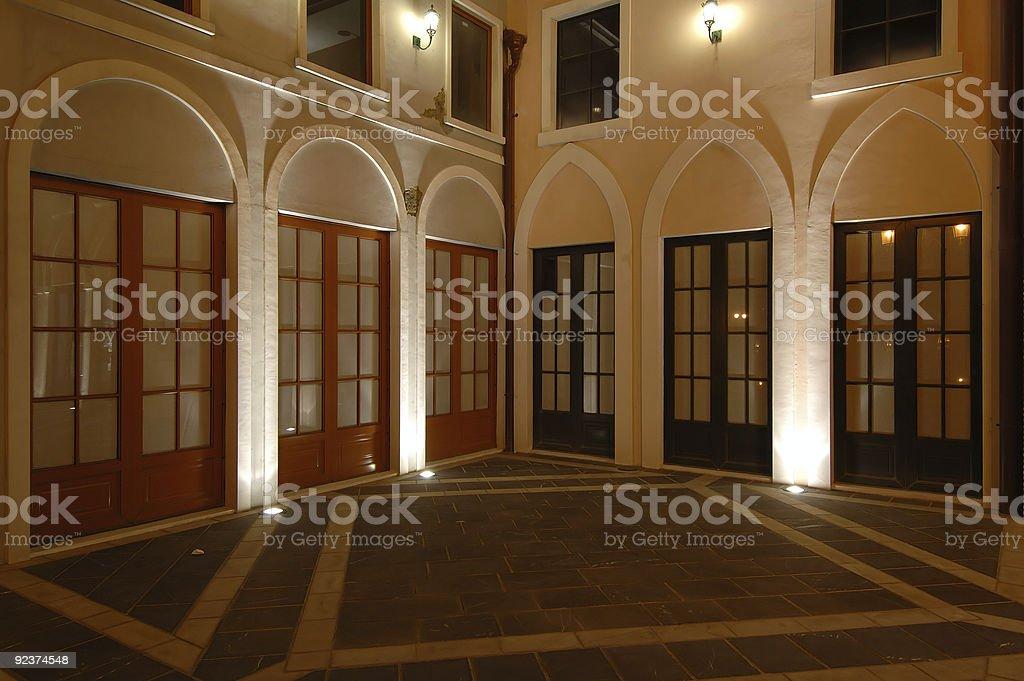 Häuser der italienischen Riviera-Stil, fisherman wharf Lizenzfreies stock-foto