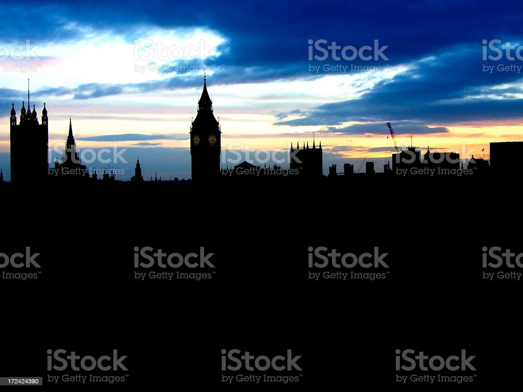 Houses of Parliament, Big Ben royalty-free stock photo