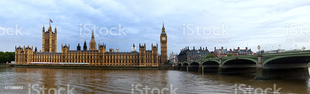 Houses of parliament England royalty-free stock photo