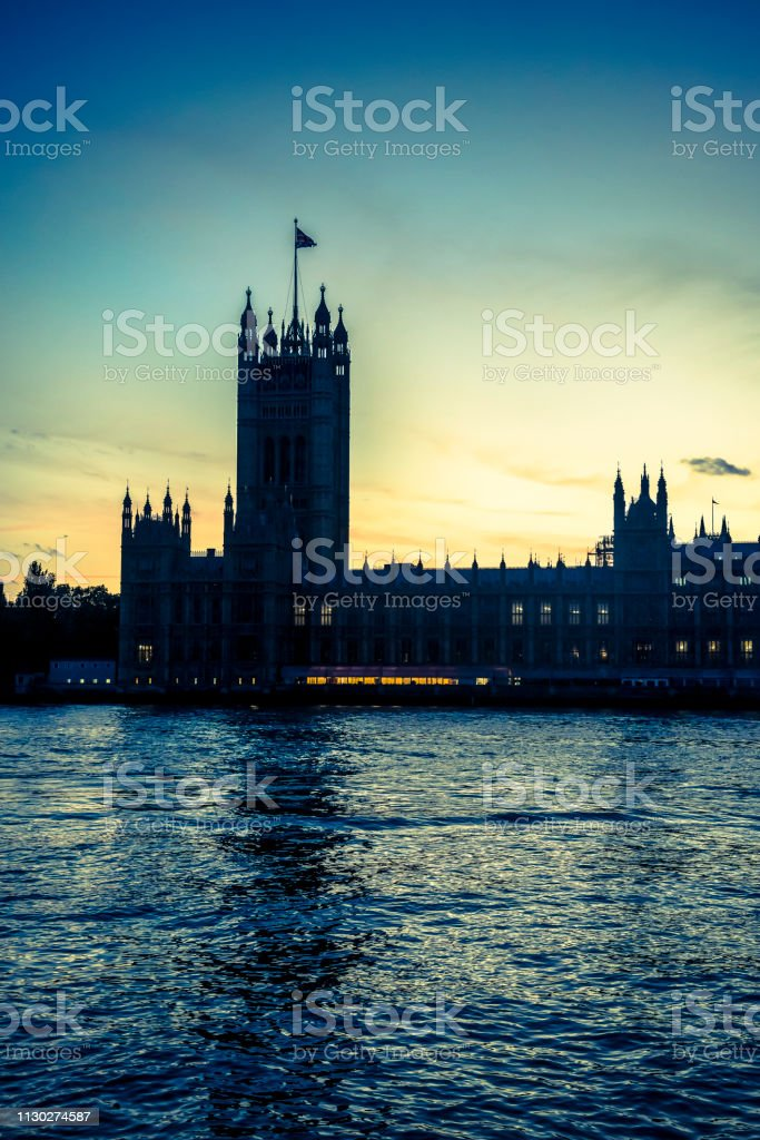 Houses of Parliament, , London, England, UK stock photo
