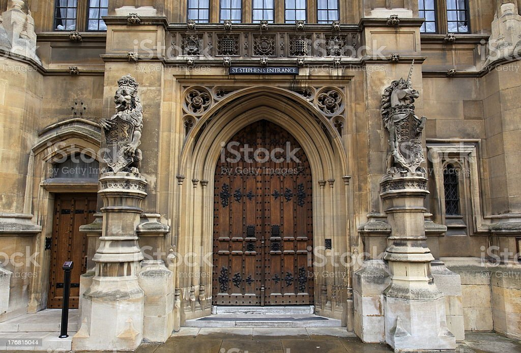 Houses of Parliament. London. UK royalty-free stock photo