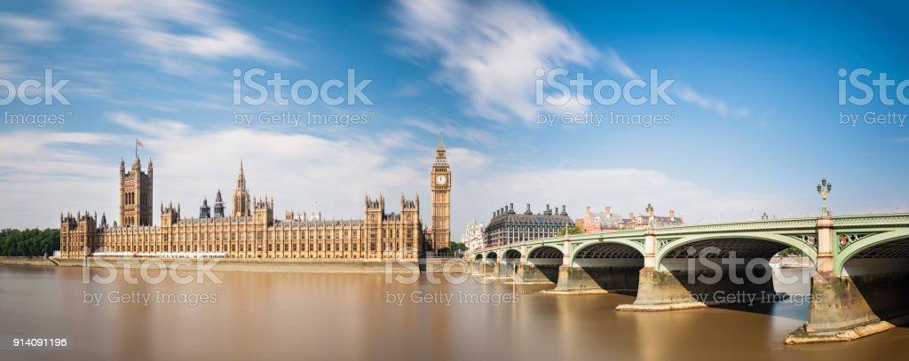 Häuser des Parlaments Langzeitbelichtung – Foto