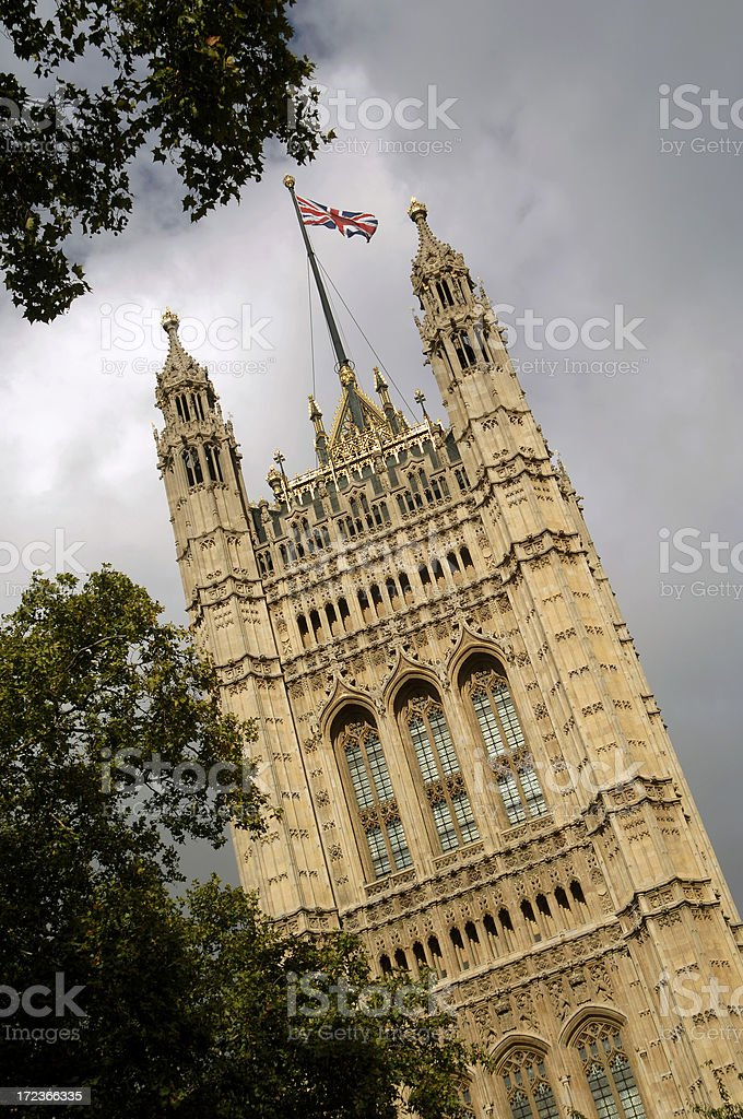 Houses of Parliament (London) royalty-free stock photo