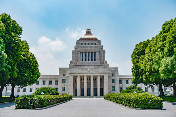 国会議事堂 - 日本 ストックフォトと画像