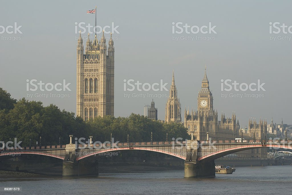 Houses of Parliament royalty free stockfoto